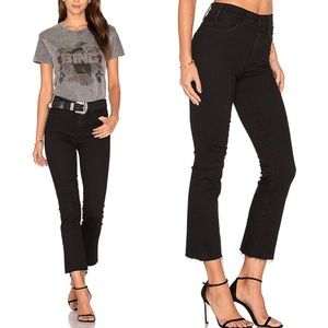 Mother looker size 24 fray hem cropped *FLAW READ*